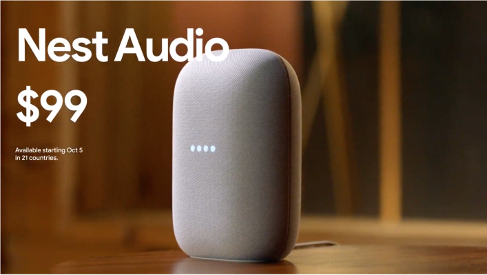 Google unveils the $99 Nest Audio smart speaker - techcrunch