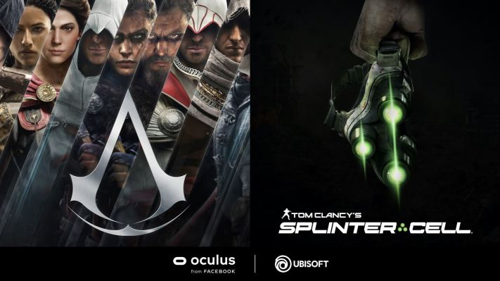 Ubisoft teases Assassin's Creed and Splinter Cell VR titles for Oculus thumbnail