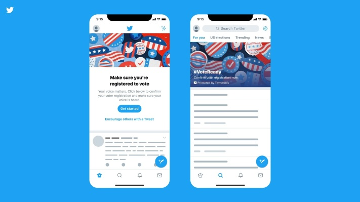 Social networks are doing a voter registration blitz this week - techcrunch