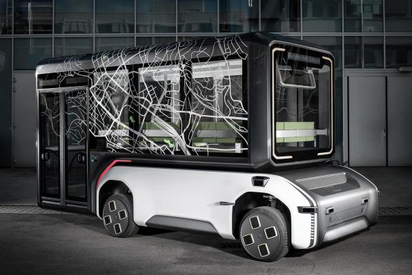 German space agency reveals an autonomous, electric urban mobility prototype for use right here on Earth - techcrunch