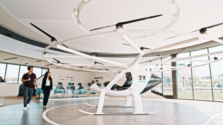 'Flying taxi' startup Volocopter picks up another $241M, says service is now two years out – TechCrunch