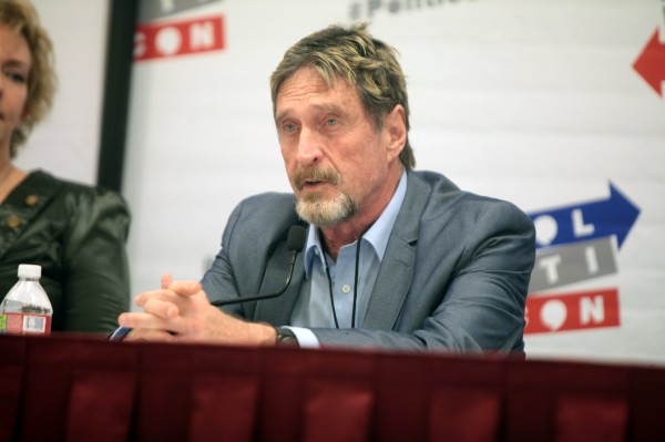 John McAfee arrested after DOJ indicts crypto millionaire for tax evasion – TechCrunch