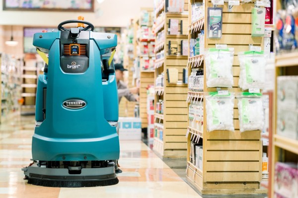 Sam's Club will deploy autonomous floor-scrubbing robots in all of its U.S. locations - techcrunch
