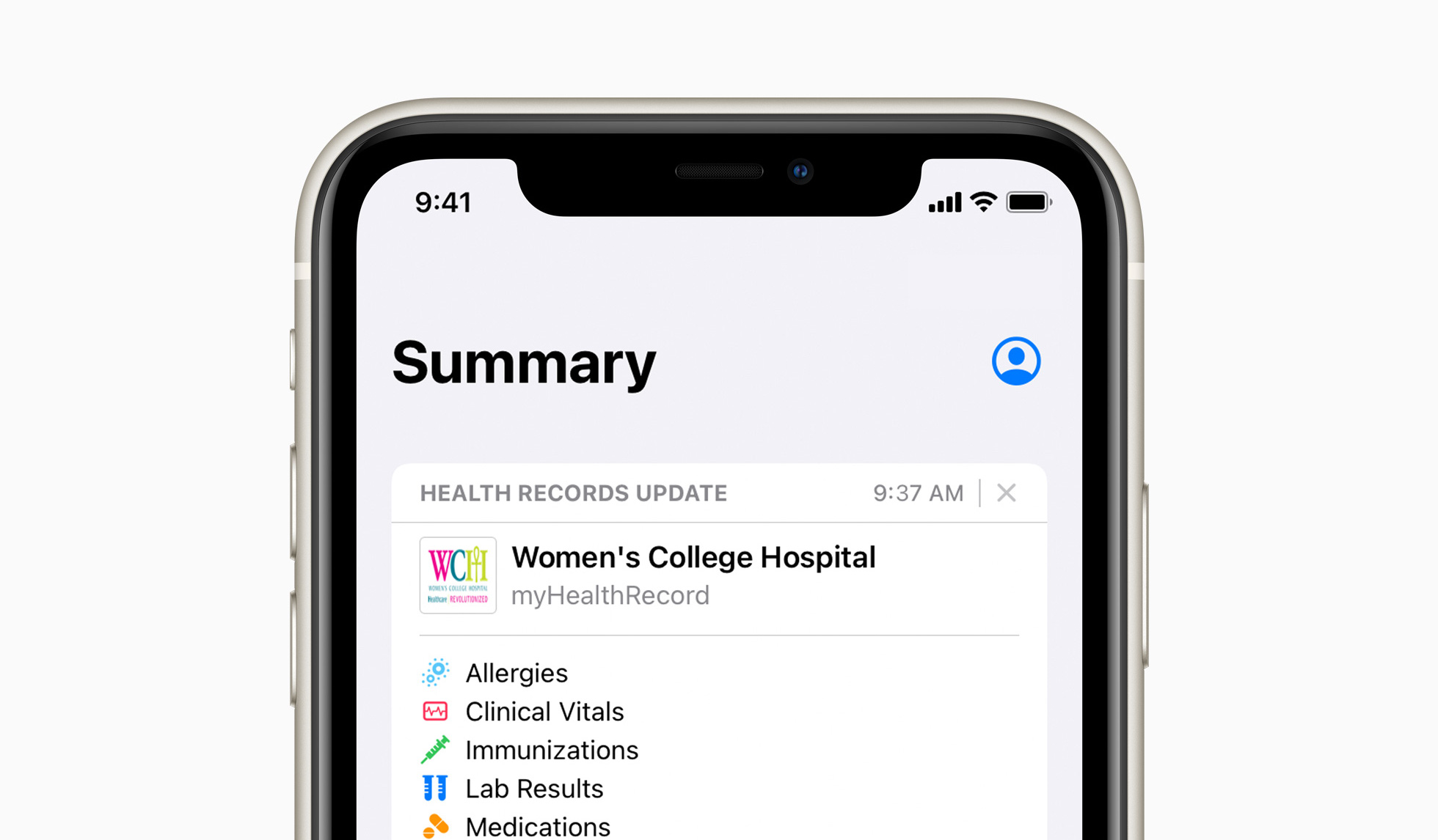 Apple brings Health Records to iPhone in the United Kingdom and Canada