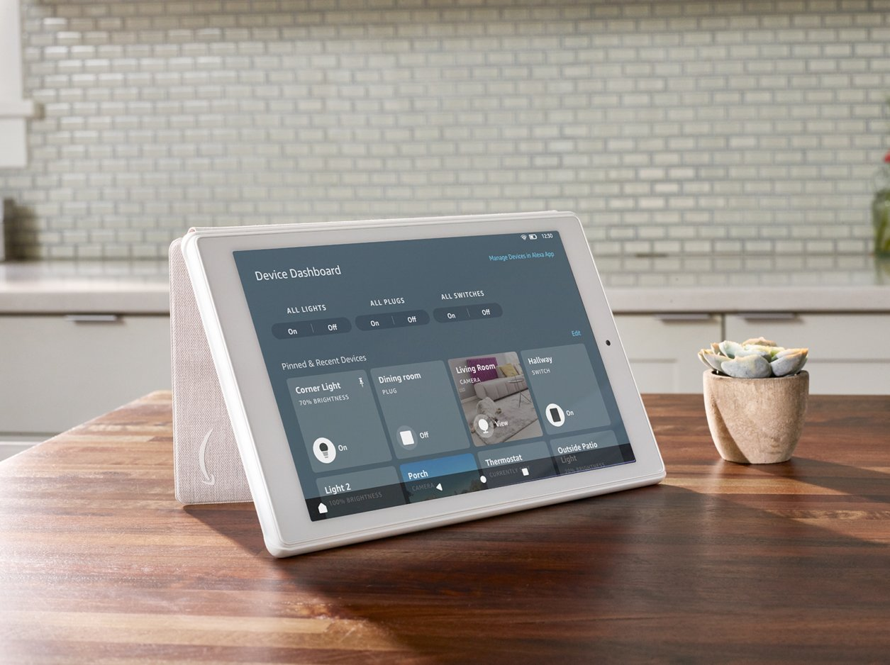 Amazon enables a smart home Device Dashboard on some Fire tablets