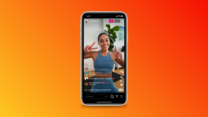 Instagram rolls out fan badges for live videos, expands IGTV ads test – TechCrunch