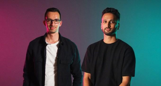 MindLabs founders Gabor Szedlak and Adnan Ebrahim