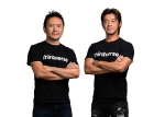 Nogi Ohnogi and Koichi Fujikawa of virtual reality game developer Thirdverse