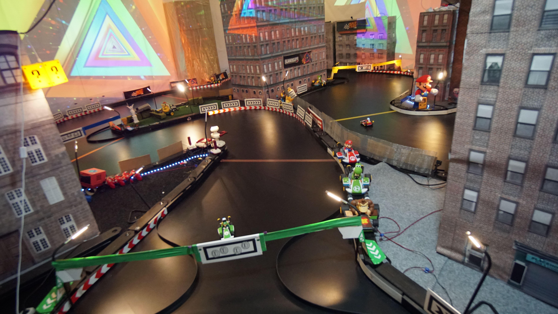 Mario Kart Live: Home Circuit получает неофициальную удаленную игру на Surrogate.tv 2021 intel, Mario, Nintendo, UI, Youtube, запуск, звук, карта, контроллер, машины, освещение, программа, робот, США, телевизор, технологии, трансляции