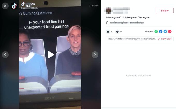 Блокировка QAnon в TikTok была `` глючной '' 2021 2020, Facebook, QAnon, Techcrunch, TikTok, Youtube, автомат, Видео, контент, океан, платформа, поведение, рептилии, теории заговора, термины, фразы
