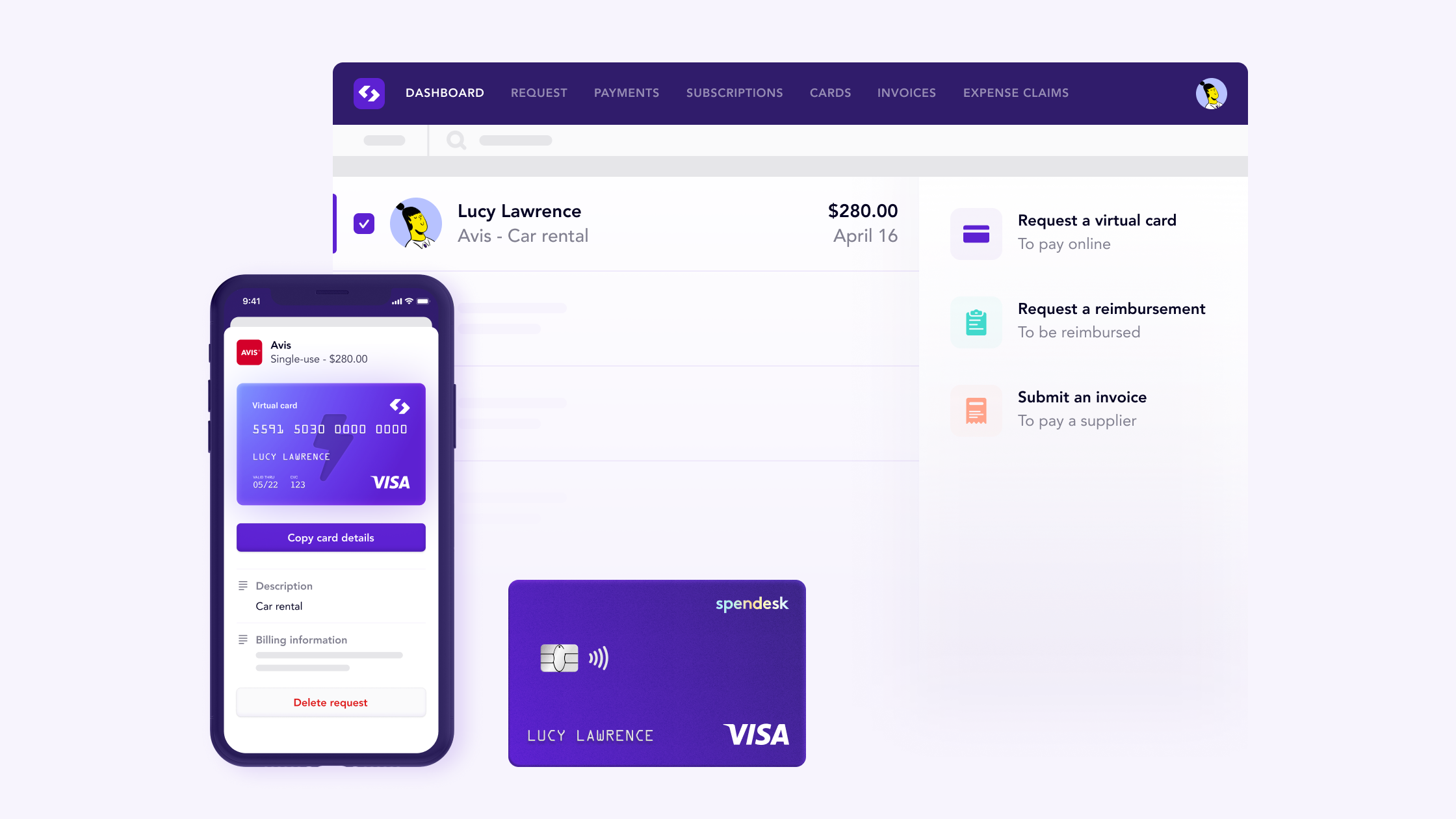 Spendesk Core Product