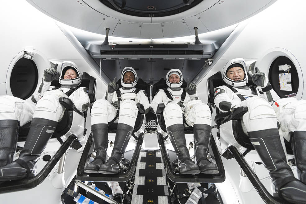 SpaceX and NASA successfully launch four astronauts to space for first operational Dragon crew mission