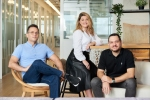 Syte's cofounders, chief executive Ofer Freyman, chief revenue officer Lihi Pinto-Fryman and chief operating officer Idan Pinto