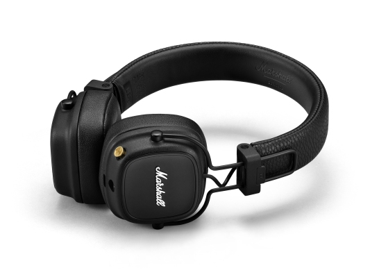 Marshall Major IV wireless headphones offer great sound, plus 80+ hours of battery life and wireless charging