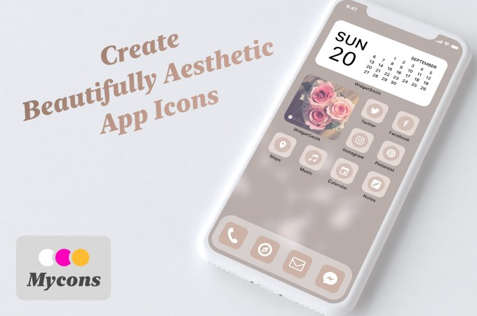 Mycons Makes It Easy To Create And Buy Custom Icons For Your Ios Home Screen Techcrunch Download 1,700+ royalty free aesthetic icon vector images. buy custom icons for your ios