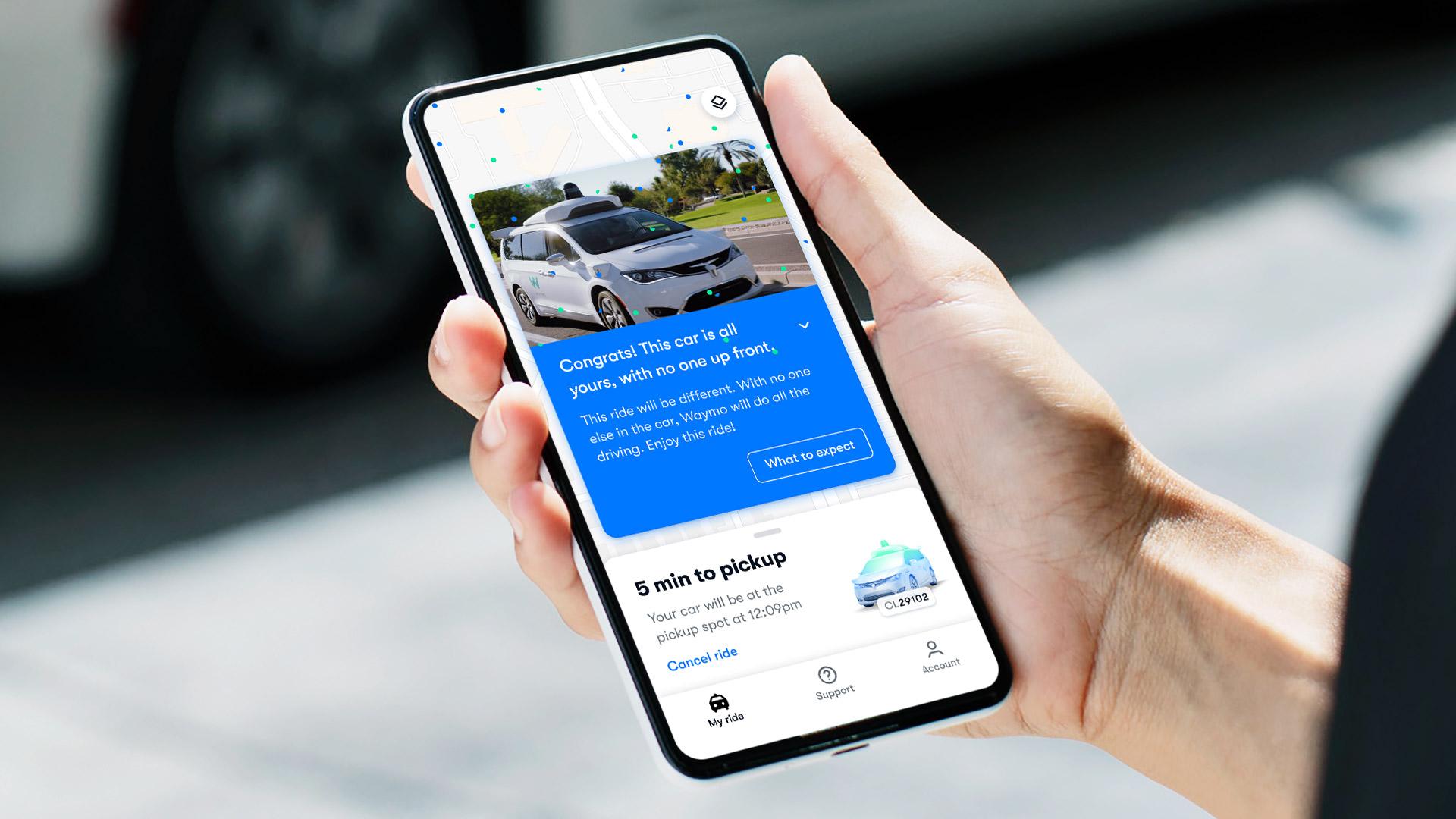 waymo-driverless app