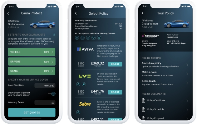 Caura, the app for U.K. car owners, begins offering insurance - techcrunch