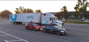 Pony ai autonomous vehicle