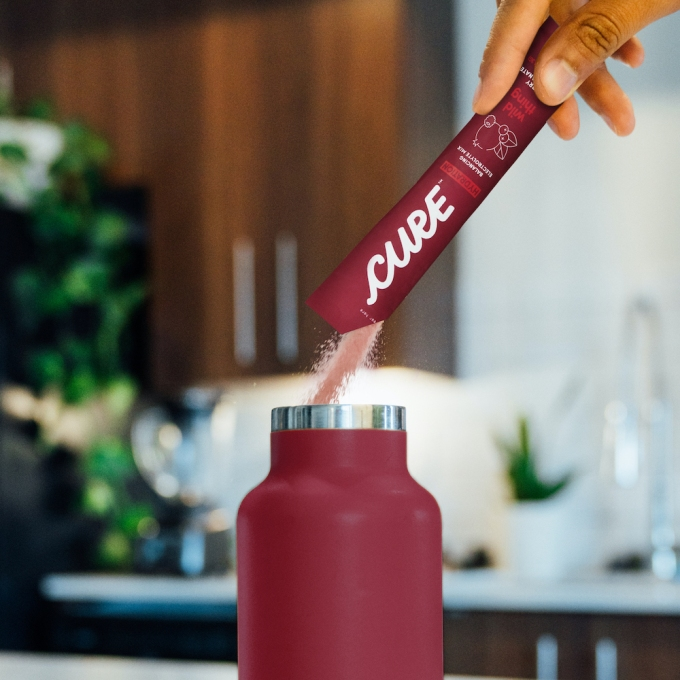 Cure Hydration raises $2.6M for its healthy sports drink alternative