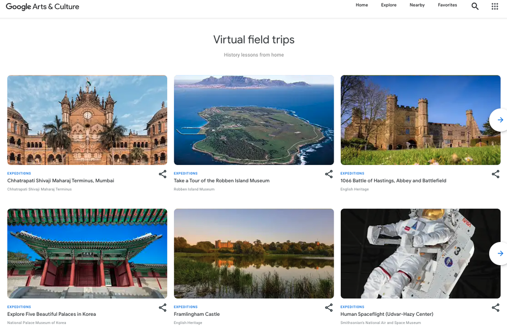 <div>Google pulls the plug on Expeditions VR app, migrates tours to Arts & Culture</div>