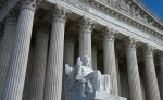 An outside view of the U.S. Supreme Court.
