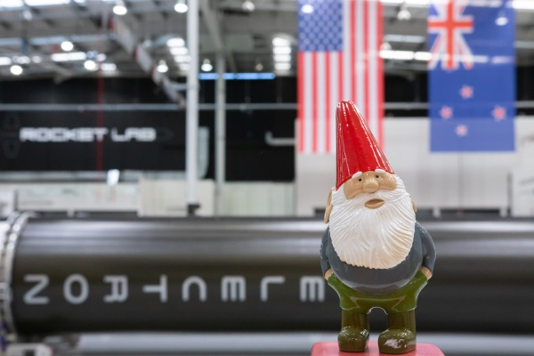 Rocket Lab's next launch will provide 30 satellites to orbit-- and a 3D-printed gnome from Gabe Newell thumbnail