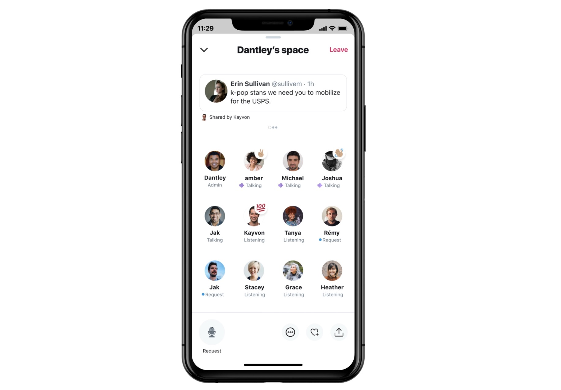 Twitter starts testing Spaces, its Clubhouse-like voice chat rooms