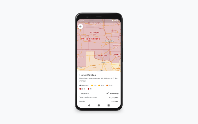 Google updates Maps with more COVID info and finally launches its Assistant driving mode