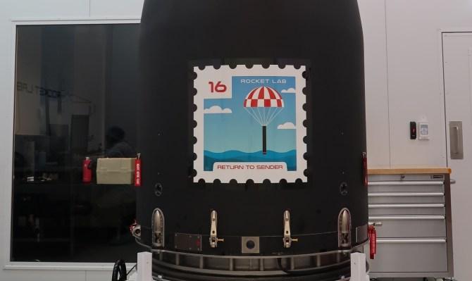 Rocket lab return to sender