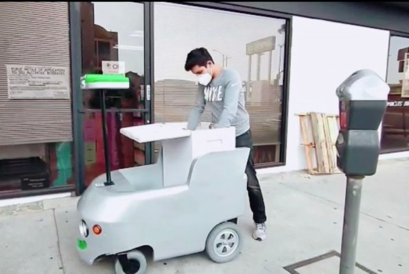 Remote-controlled delivery carts are now working for the local Los Angeles grocer - techcrunch