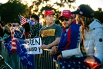 Trump rally in Beverly Hills as Joe Biden is elected president