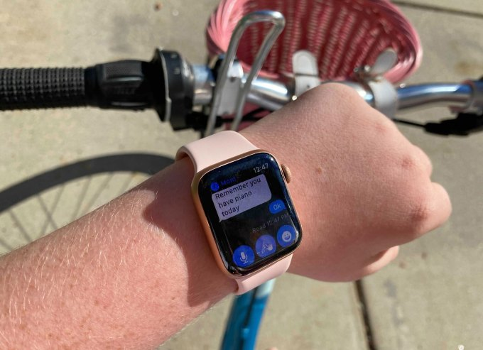 A tween tries Apples new Family Setup system for Apple Watch