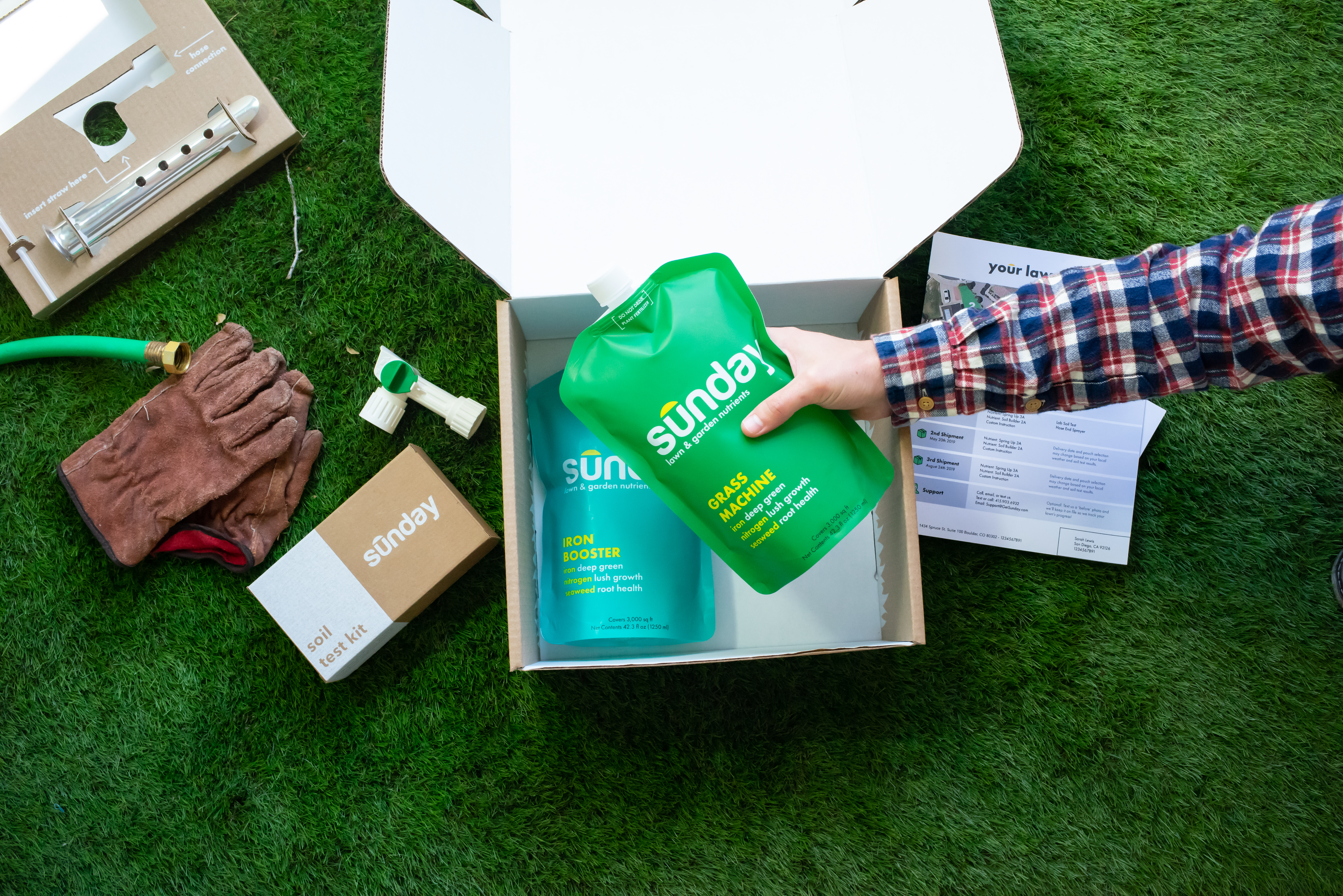 Lawn startup Sunday raises millions to help you with your backyard