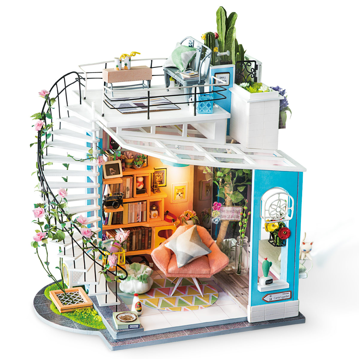 Robotime miniature house kit
