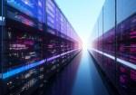 Digital generated image of data server.