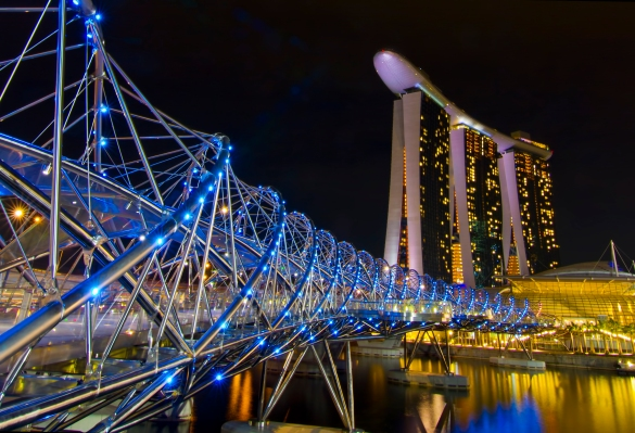 Singapore's government launches blockchain innovation program with $8.9 million in funding thumbnail