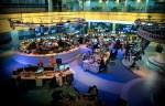 Al Jazeera's newsroom in Doha, Qatar.