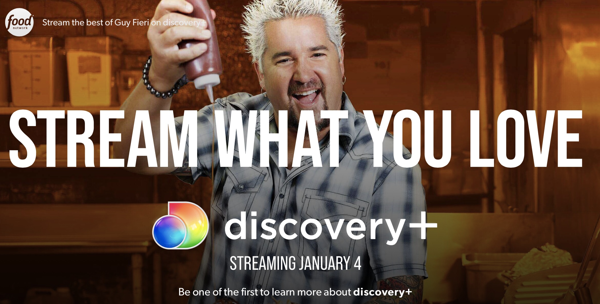Discovery will launch its own streaming service on January 4