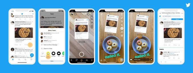 Snapchat integrazione Twitter