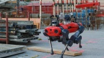 The four-legged ANYmal robot in an industrial situation