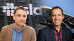 Stewart Butterfield, CEO Slack and Bret Taylor, president and COO of Salesforce