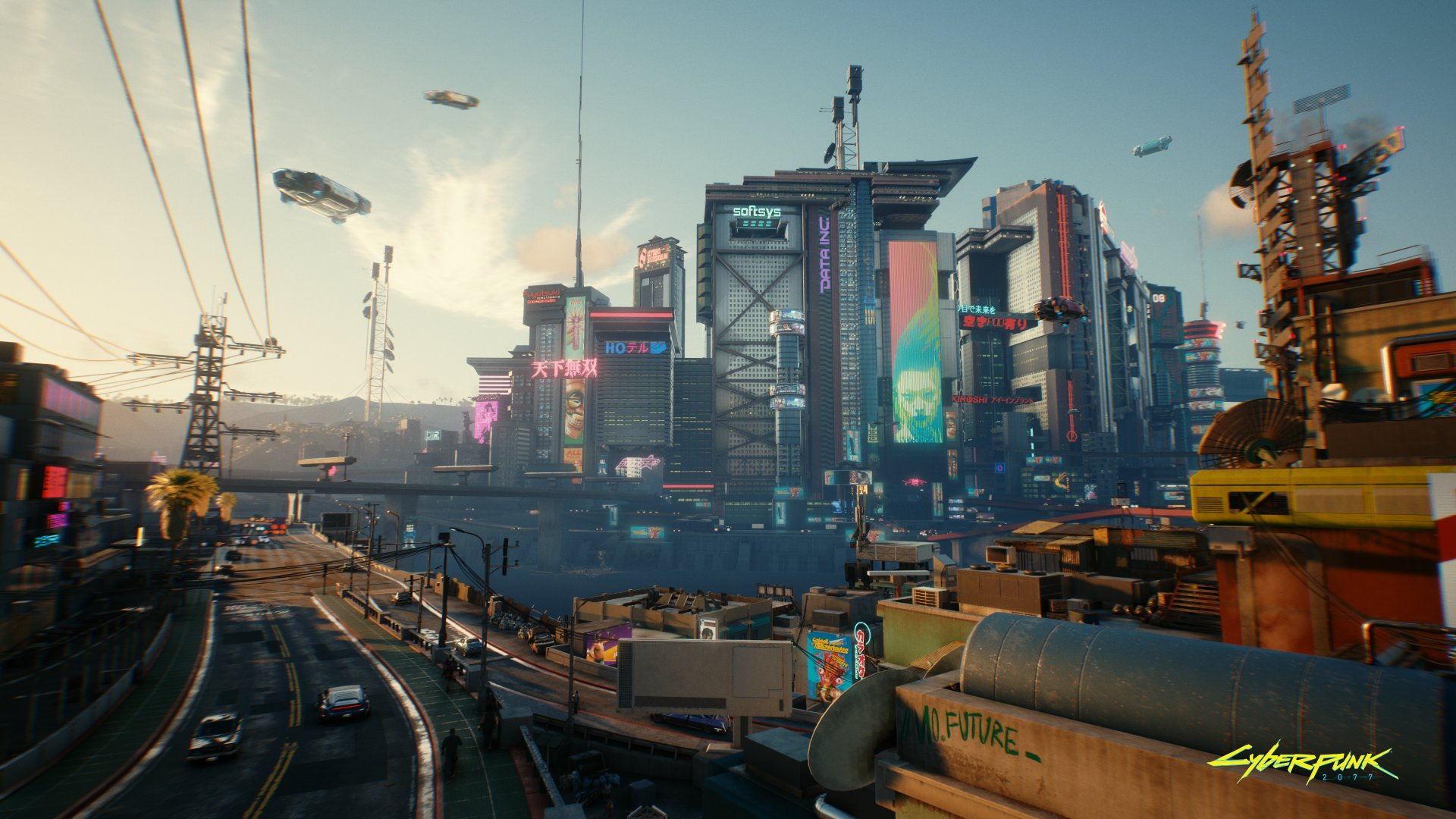 Cyberpunk 2077 A Retro Futuristic Fantasy With Huge Potential If You Can Ignore The Cyberjank Techcrunch