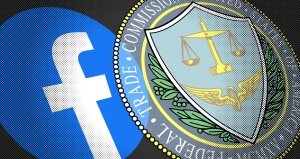 Facebook logo and FTC seal