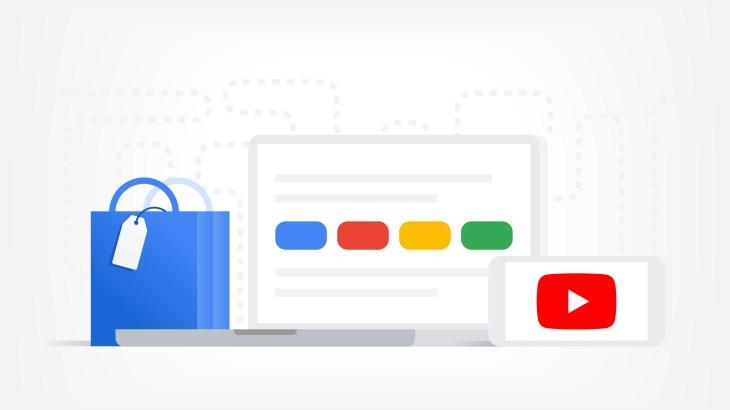 Рекламные логотипы Google