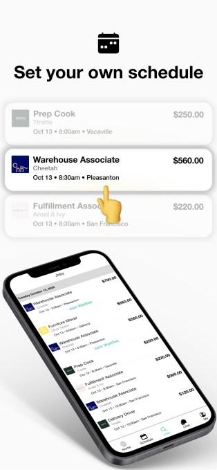 WorkWhile screenshot
