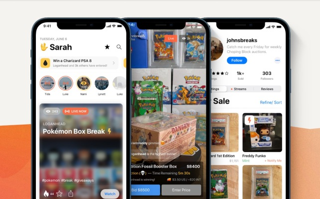 Whatnot raises $20M for its live streaming platform built for selling Pokémon cards and other collectibles - TechCrunch