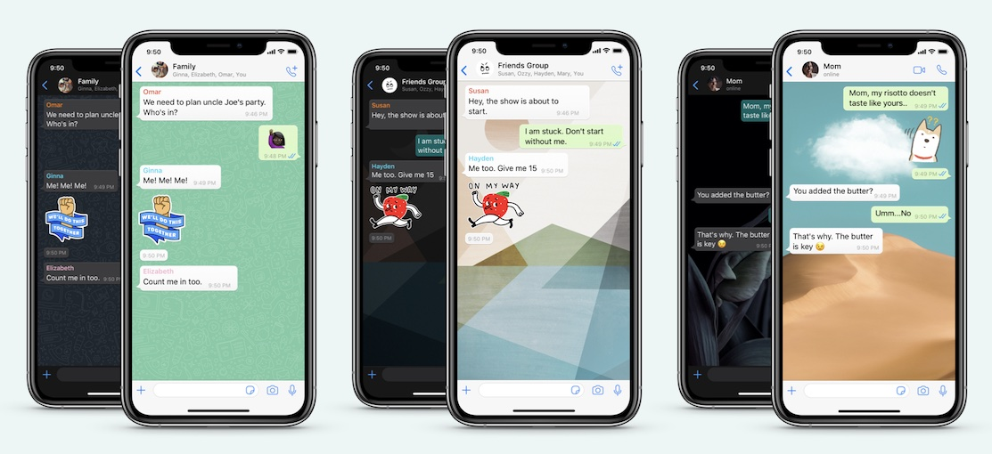 WhatsApp is upping its wallpapers and stickers game