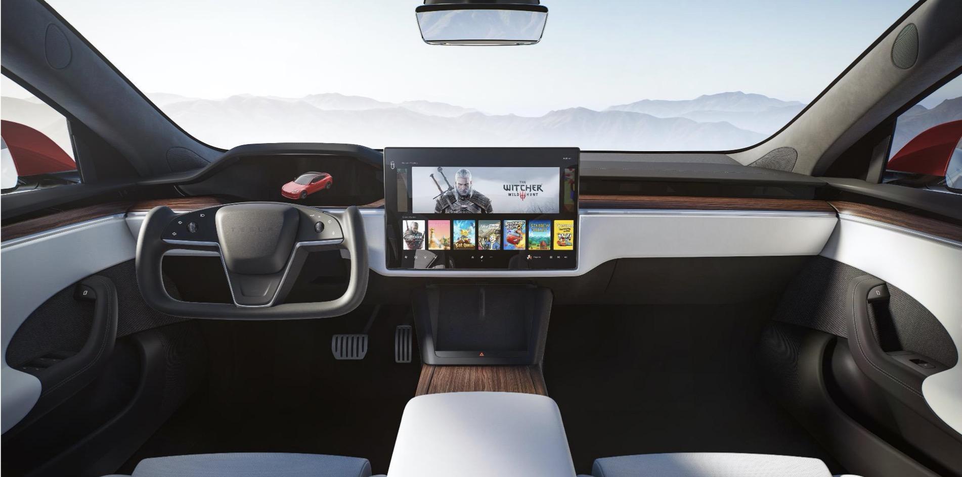 Tesla X Inside