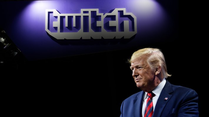 Twitch disables Trump's channel until end of his term to 'minimize harm' during transition