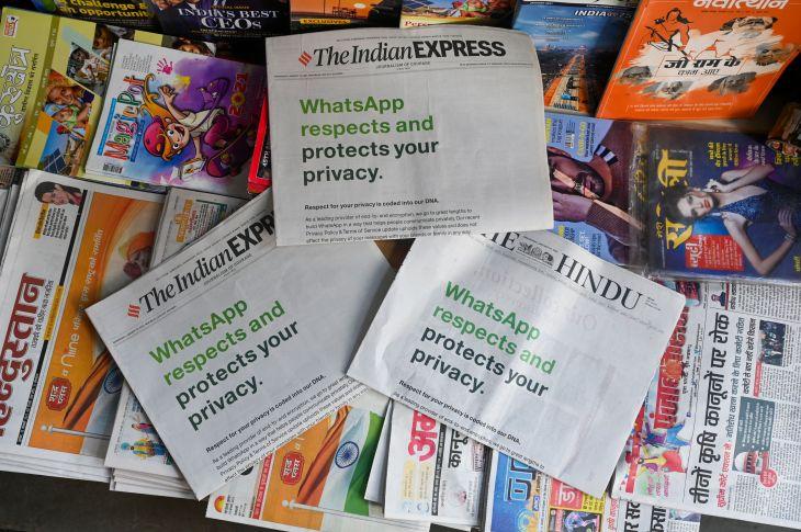 INDIA-US-INTERNET-WHATSAPP